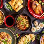 Bild von asiatischen Gerichten